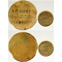 Two Texas Tokens