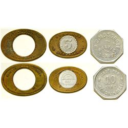 West  Lumber Company Tokens
