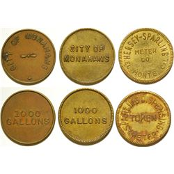 City of Monahans Water Tokens