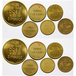City of Odessa Tokens and Others