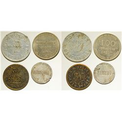 """""""M"""" Town Tokens"""