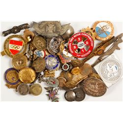 Button Pin and Badge Collection