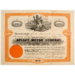Afloat Motor Co Stock