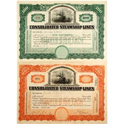 Consolidated Steamship Lines Stocks (2)