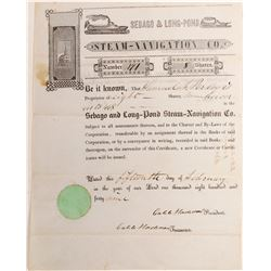 Sebago & Long Pond Steam-Navigation Co. Stock