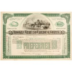 Brooklyn Wharf and Warehouse Co Stock
