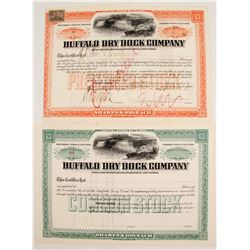 Buffalo Dry Dock Co Stock (2)