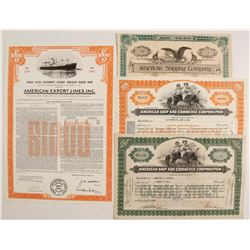 American Shipping Stock and 1 Bond