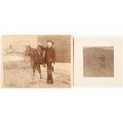 Cabinet Card Photos of Armed Men