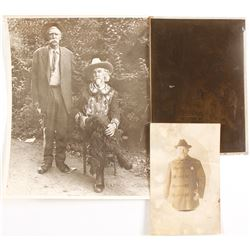 RPC & Photos of Famous Lawmen Includes Rough Rider with Teddy Roosevelt