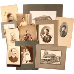 Cabinet Cards from Gold Country