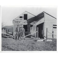 Snowshoe Thompson's Wife and Cabin in Diamond Valley