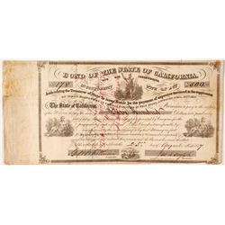 California Bond for the Indian War Indebtedness, 1857, $500