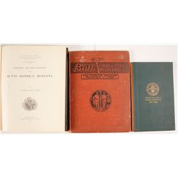 Butte Montana Historical Hardcovers (3)