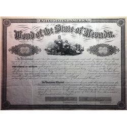 Very early State of Nevada Bond