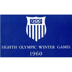 Reno was a Sure Shot to Host the 1960 Olympics (Presentation Booklet)