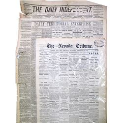 1870's Nevada Newspapers (3)