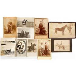Cabinet Cards, Photo's, RPC's,  (approx. 18)