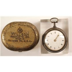 Antique Pocket Watch with History