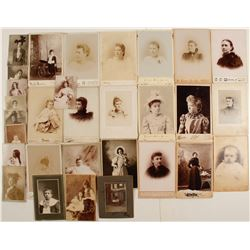 Vintage Children and Young Ladies Photos