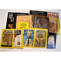 Egypt (approx. 11 magazines & books)
