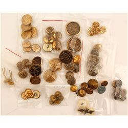 Lot of Foreign Buttons