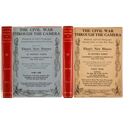 Civil War Through the Camera - 16 Parts in Two Volumes