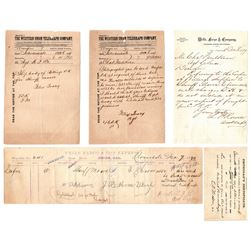 Corpse Waybill and Related Documents - Mendocino Outlaws