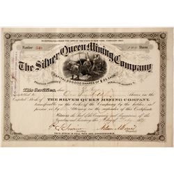 Silver Queen Mining Company Stock
