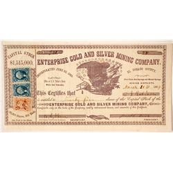 Enterprise Gold and Silver Mining Company Stock