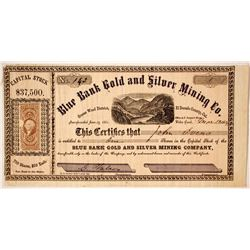 Blue Bank Gold and Silver Mining Company Stock