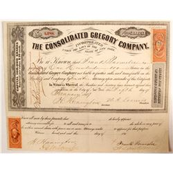 Consolidated Gregory Co Stock