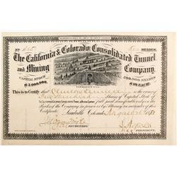 California & Colorado Consolidated Tunnel and Mining Company