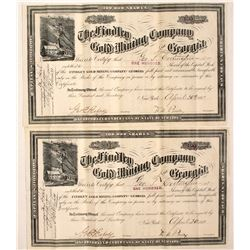 Findley Gold Mining Co of Georgia Stocks (2)