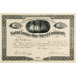 Saint Louis Ore and Steel Company Stock