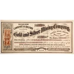 North Lawrence & Guilford Consolidated Gold and Silver Mining Company Stock