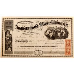Augusta Gold and SIlver Mining Company Stock