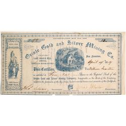 Oriole Gold and Silver Mining Company Stock