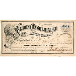 Albion Consolidated Mining Co.