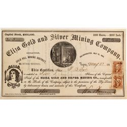 Eliza Gold and Silver Mining Company Stock