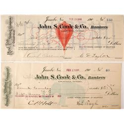 Two Most Iconic Nevada Checks