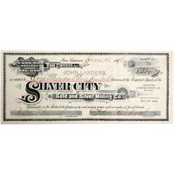 Silver City Gold and Silver Mining Co Stock