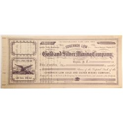 Governor Low Gold and Silver Mining Company