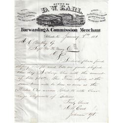 D. W. Earl Archive: The CPRR's Unofficial Forwarding Company