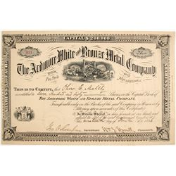 Ardmore White and Bronze Metal Company Stock
