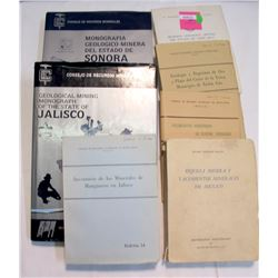 Mexican Mining Books (7)