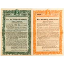 Cold Bay Exploration Company Oil Royalty Certificate