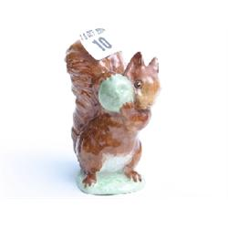 "Beatrix Potter 'Squirrel Nutmeg' 4"" high"