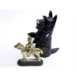 Scotty dog and horse guard door stops