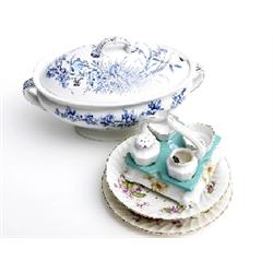 Assorted Victorian and later china